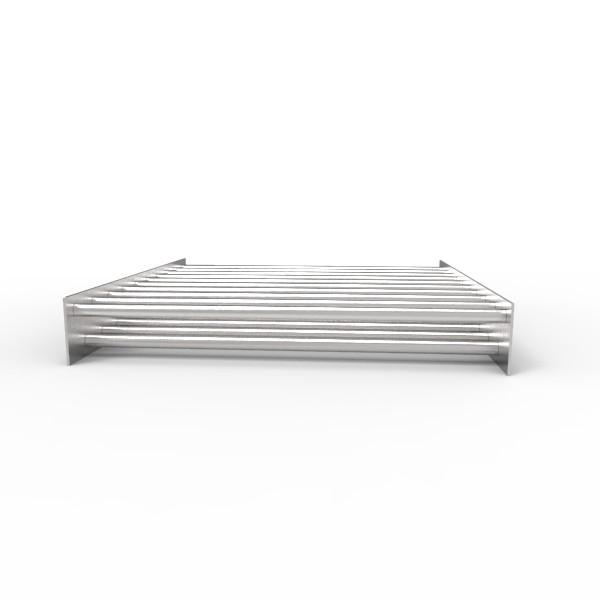 Магнитная решетка, двухрядная 500х500х16 (19 стержней D16 мм)