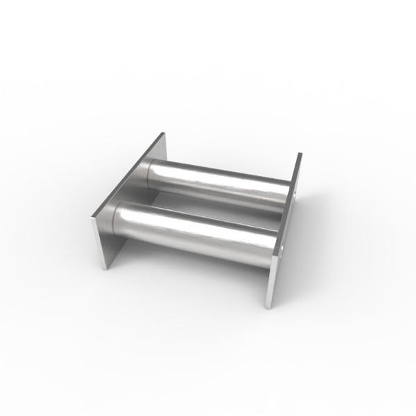 Магнитная решетка 100х100х22 (2 стержня D22 мм)