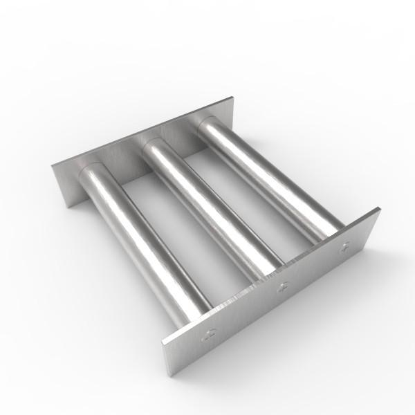 Магнитная решетка 150х150х22 (3 стержня D22 мм)