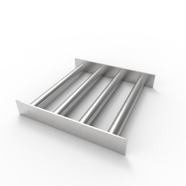 Магнитная решетка 250х250х22 (4 стержня D22 мм)
