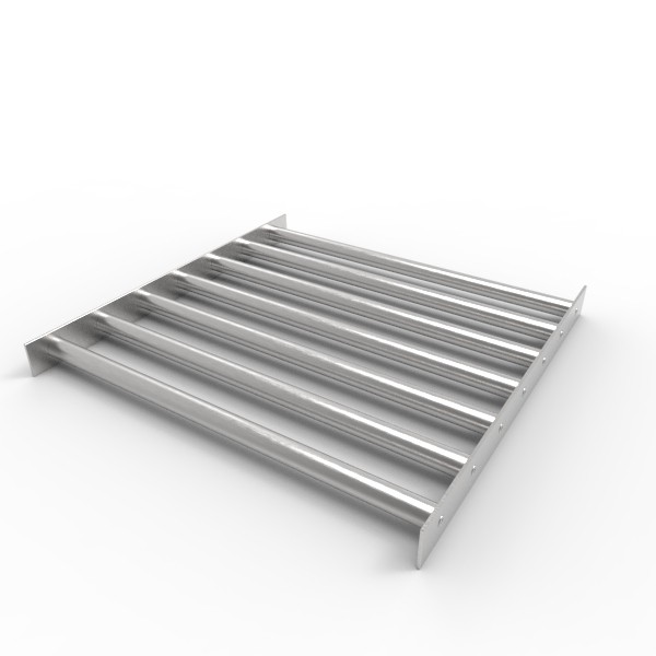 Магнитная решетка 450х450х22 (7 стержней D22 мм)