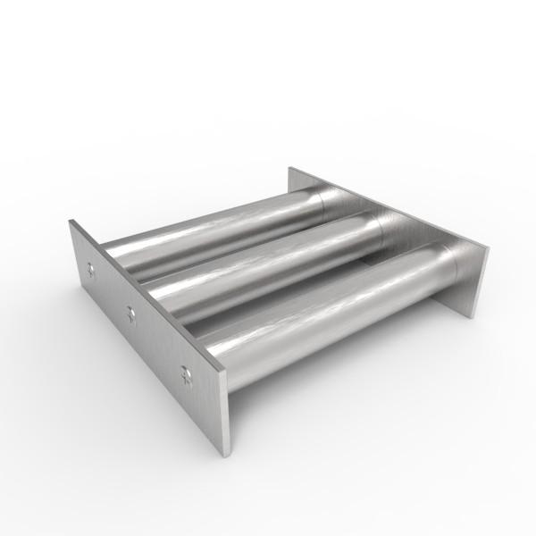 Магнитная решетка 150х150х25 (3 стержня D25 мм)