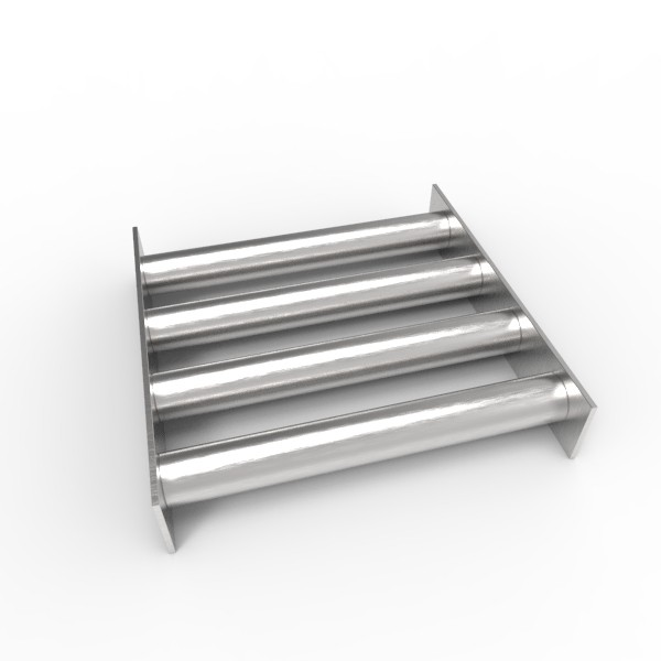 Магнитная решетка 200х200х25 (4 стержня D25 мм)
