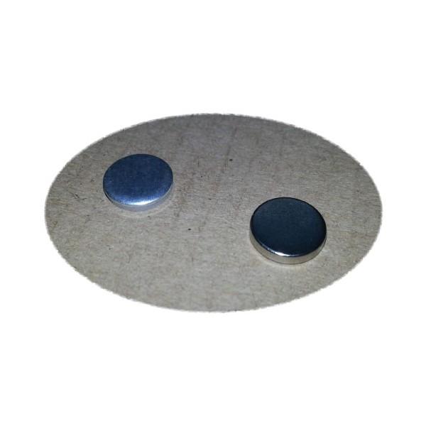 Ответная часть для магнита 10х2 мм с магнитом 10х2 мм