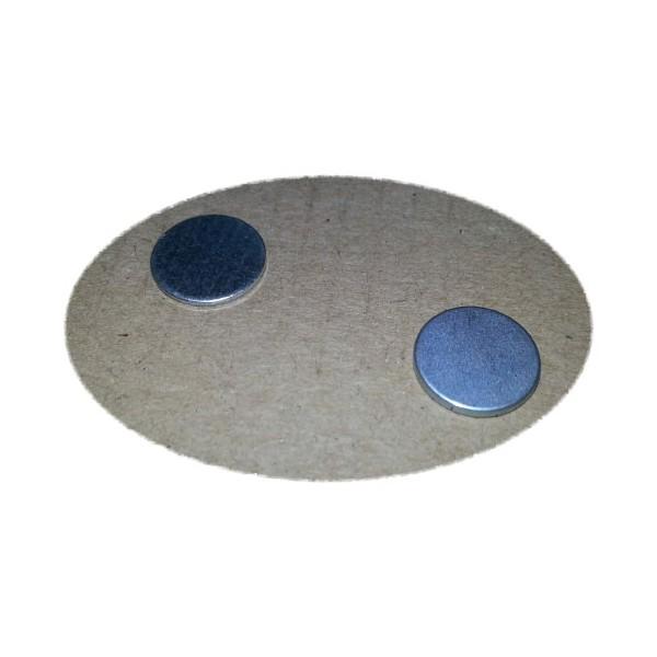 Ответная часть для магнита 12х1 мм с магнитом 12х1,5 мм