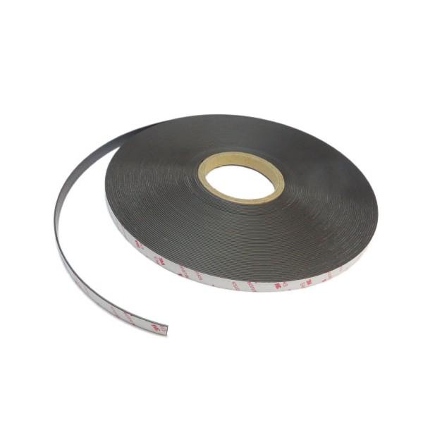 Магнитная лента 12,7 мм тип А/В с клеевым слоем 3M 30 метров
