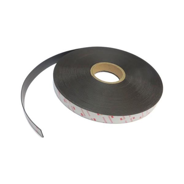 Магнитная лента 25,4 мм тип А/В с клеевым слоем 3M 30 метров