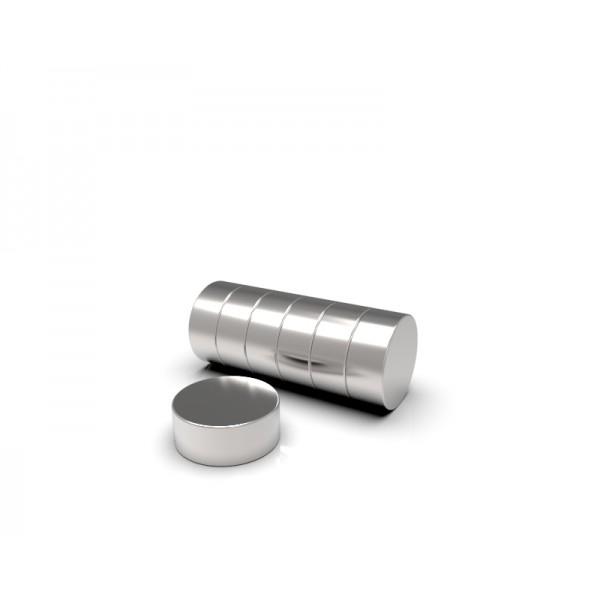 Магнит постоянный неодимовый 5 x 2 мм
