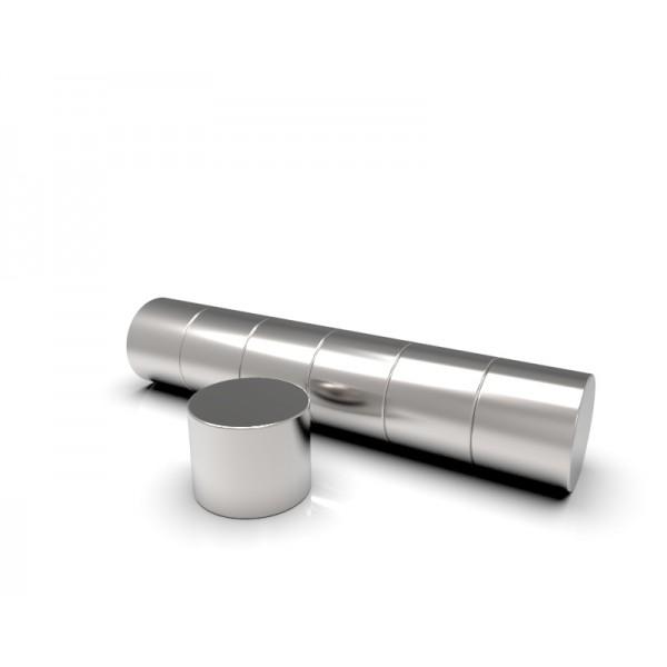 Магнит постоянный неодимовый 5х4 мм