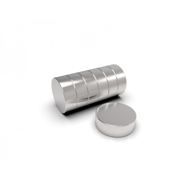 Магнит постоянный неодимовый 6 x 2 мм