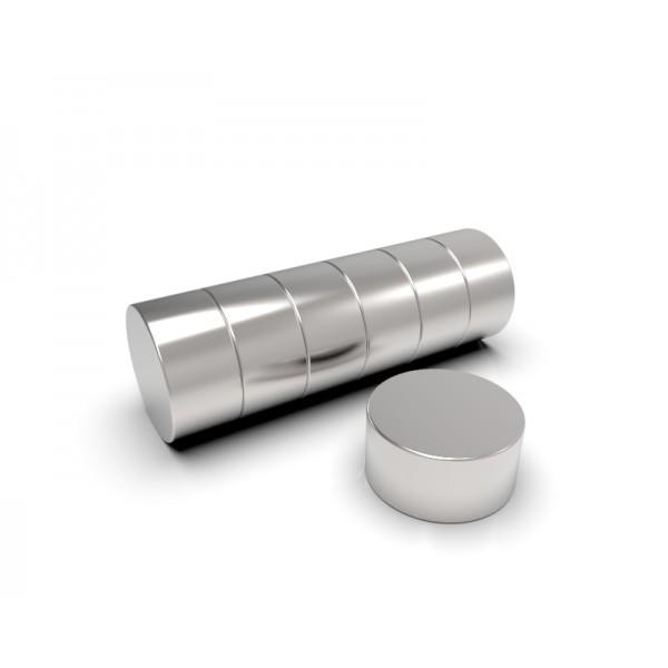 Магнит постоянный неодимовый 6х3 мм
