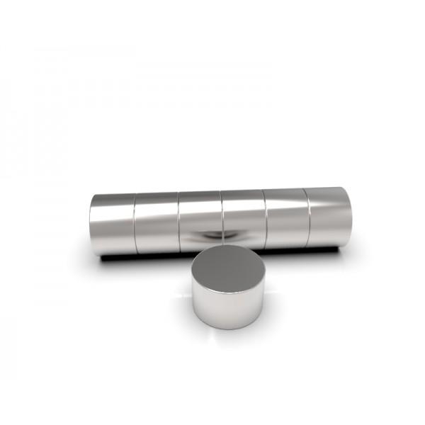 Магнит постоянный неодимовый 6х4 мм