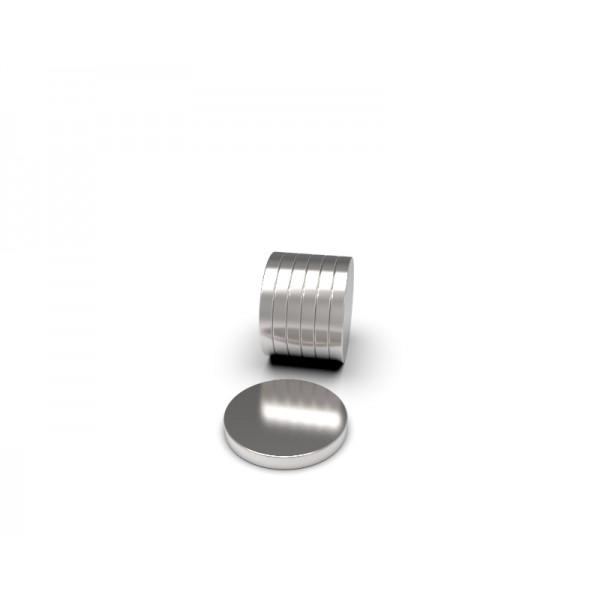 Магнит постоянный неодимовый 8 x 1 мм