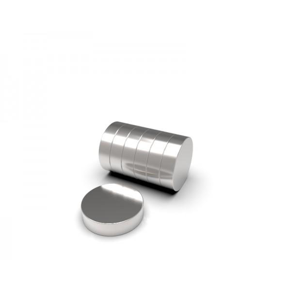 Магнит постоянный неодимовый 8 x 2 мм