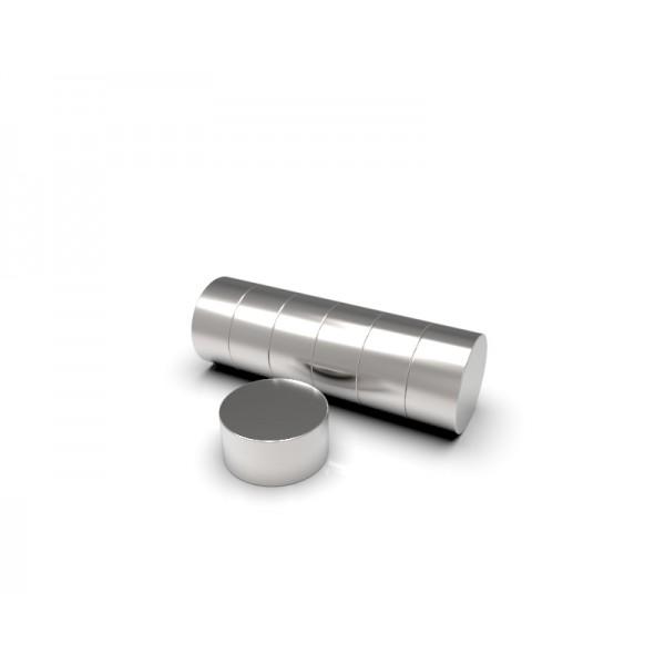 Магнит постоянный неодимовый 8х4 мм