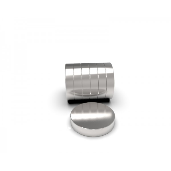 Магнит постоянный неодимовый 10 x 2 мм