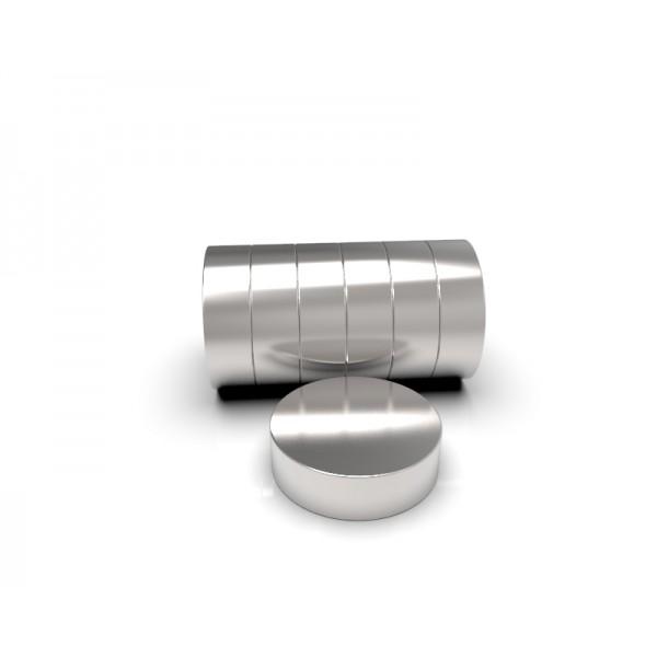 Магнит постоянный неодимовый 10х3 мм