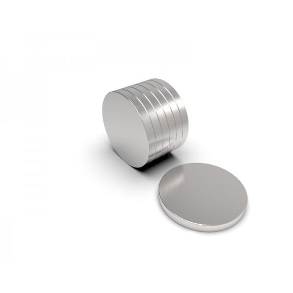 Магнит постоянный неодимовый 14х1,5 мм