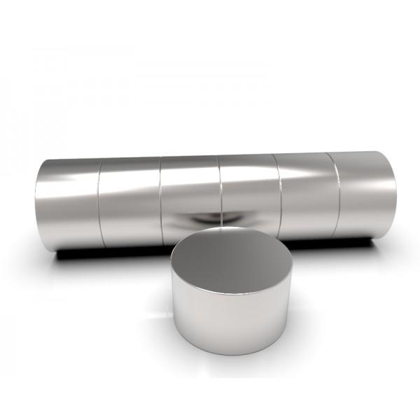 Магнит постоянный неодимовый 10х6 мм