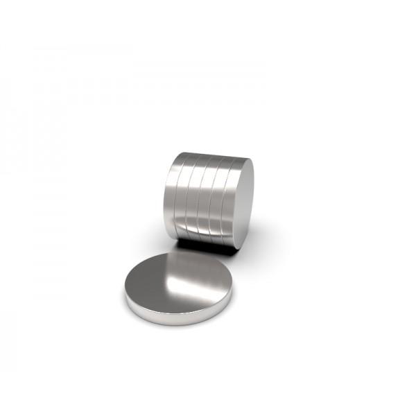 Магнит постоянный неодимовый 12 x 1,5 мм