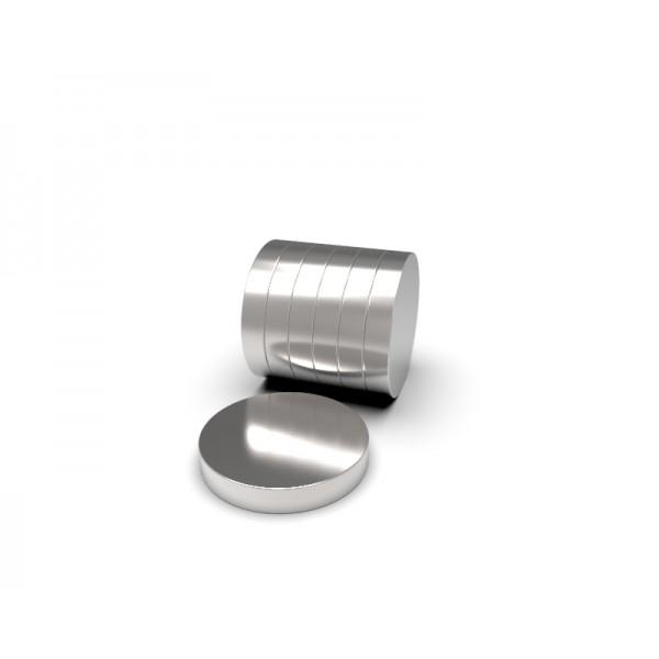 Магнит постоянный неодимовый 6 x 5 мм