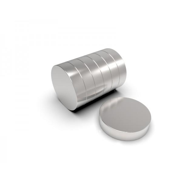 Магнит постоянный неодимовый 13 x 3 мм