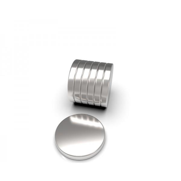 Магнит постоянный неодимовый 20 x 3 мм