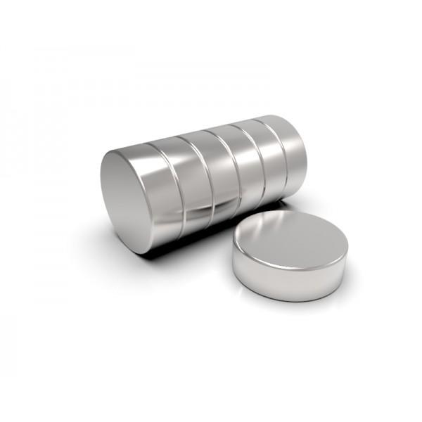 Магнит постоянный неодимовый 20 x 7 мм