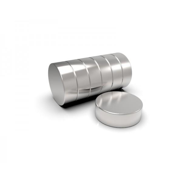 Магнит постоянный неодимовый 25 x 8 мм
