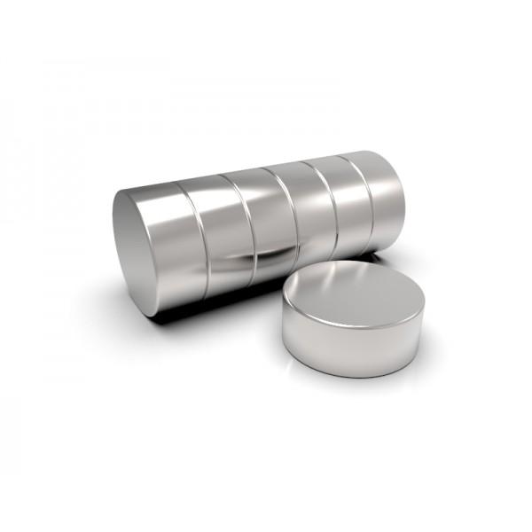 Магнит постоянный неодимовый 25 x 10 мм