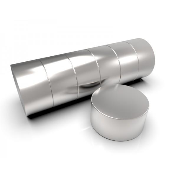 Магнит постоянный неодимовый 40 x 20 мм