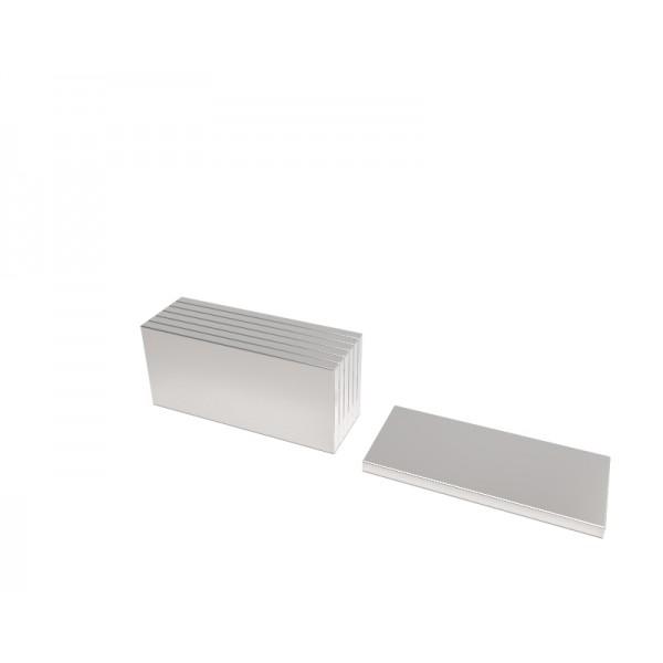 Магнит постоянный неодимовый 15 x 8 x 1 мм (форма блок)