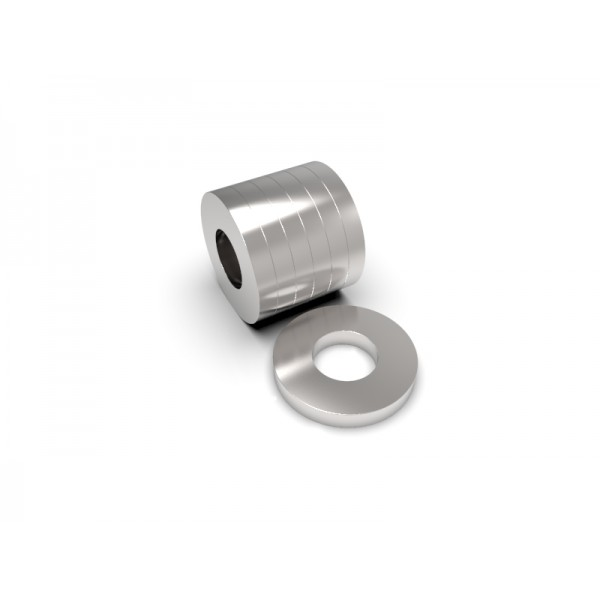 Магнит постоянный неодимовый 35х16х5 мм (форма кольцо)