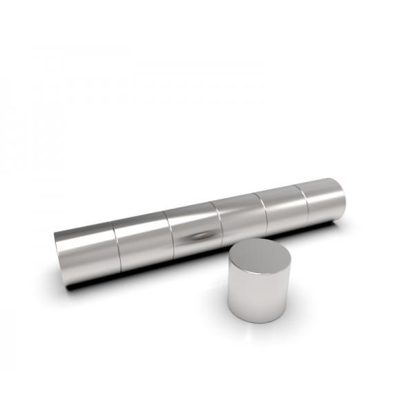Магнит постоянный неодимовый 4 x 4 мм