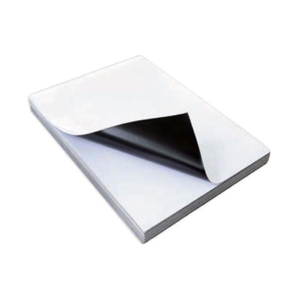 Глянцевая магнитная бумага формата А4, для печати на струйных принтерах