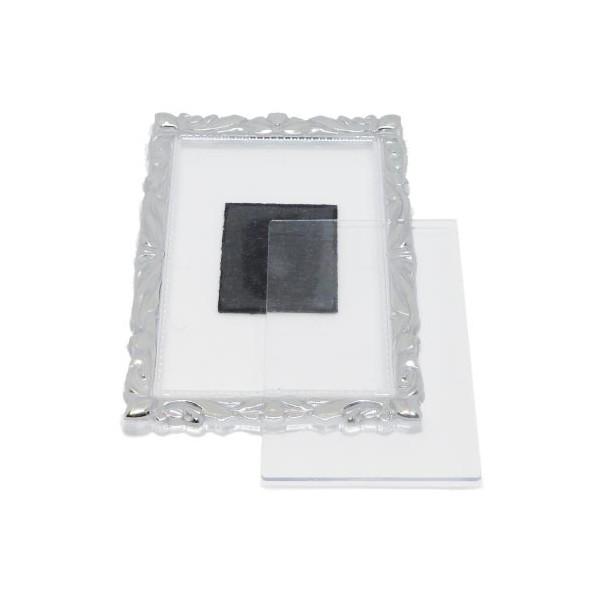 Акриловый магнит (заготовка) багет 90х65 мм