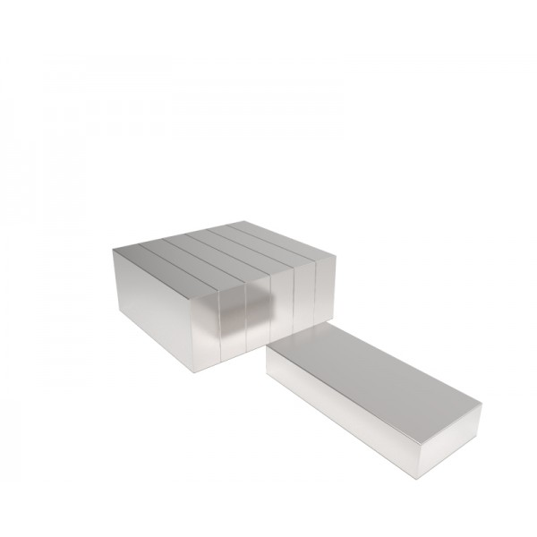 Магнит постоянный неодимовый 20х10х4 мм (форма блок)