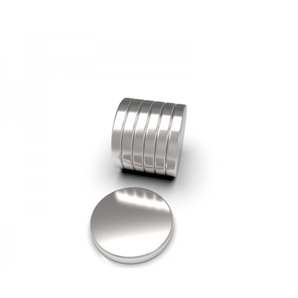 Магнит постоянный неодимовый 30 x 3 мм