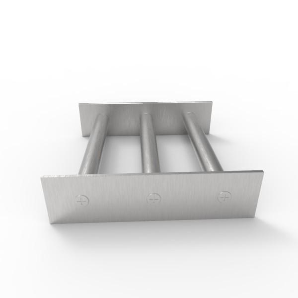 Магнитная решетка 150х150х18 (3 стержня D18 мм)