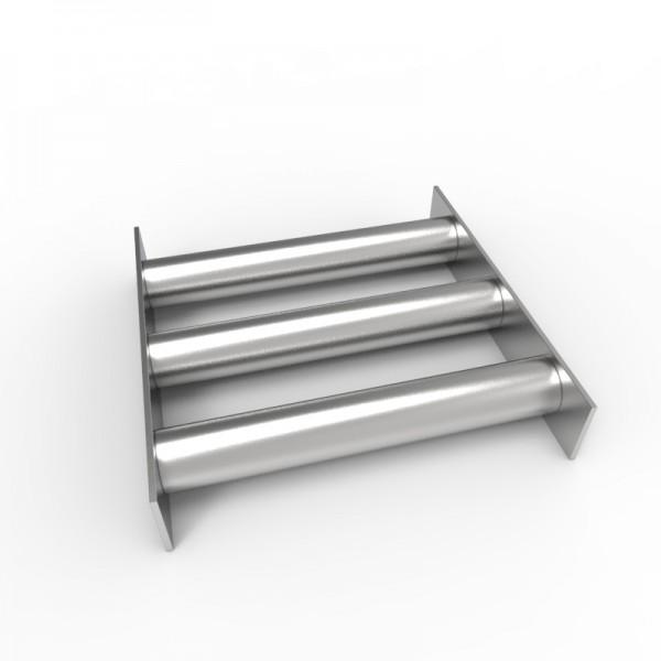 Магнитная решетка 200х200х30 (3 стержня D30 мм)