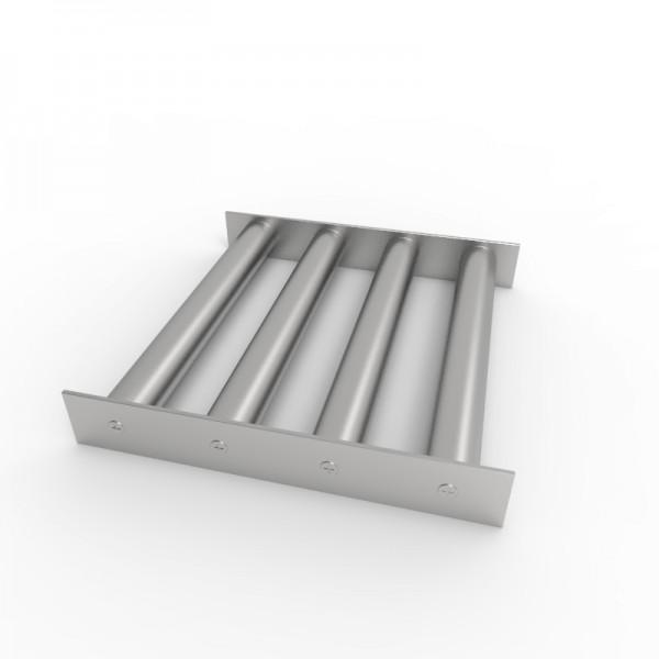 Магнитная решетка 250х250х30 (4 стержня D30 мм)