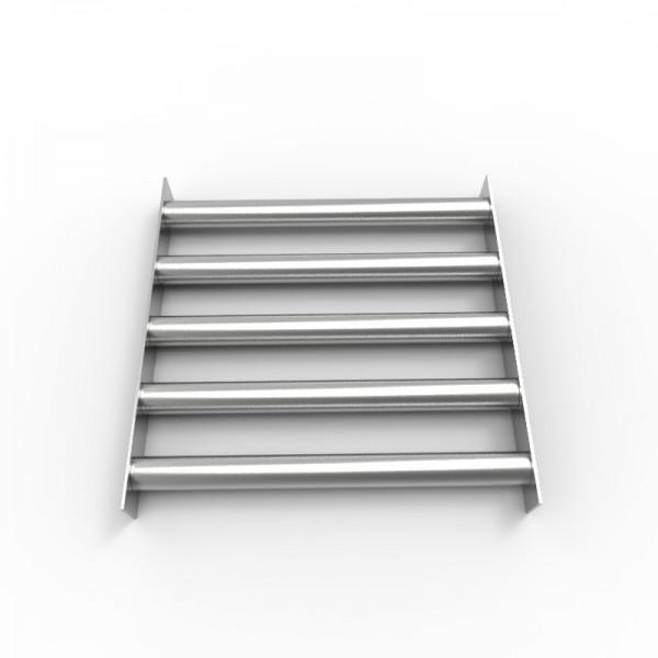 Магнитная решетка 350х350х30 (5 стержней D30 мм)