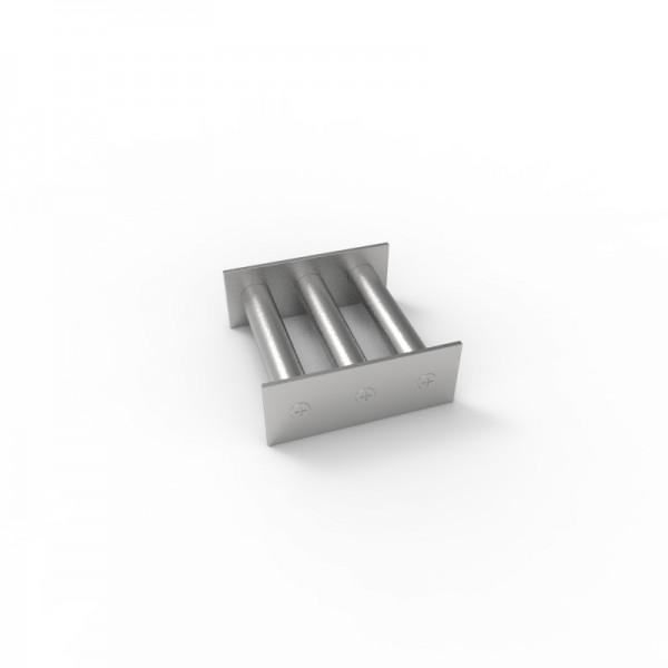 Магнитная решетка 100х100х18 (3 стержня D18 мм)