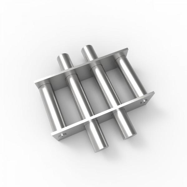 Магнитная решетка, круглая D150х18 (4 стержня D18 мм)