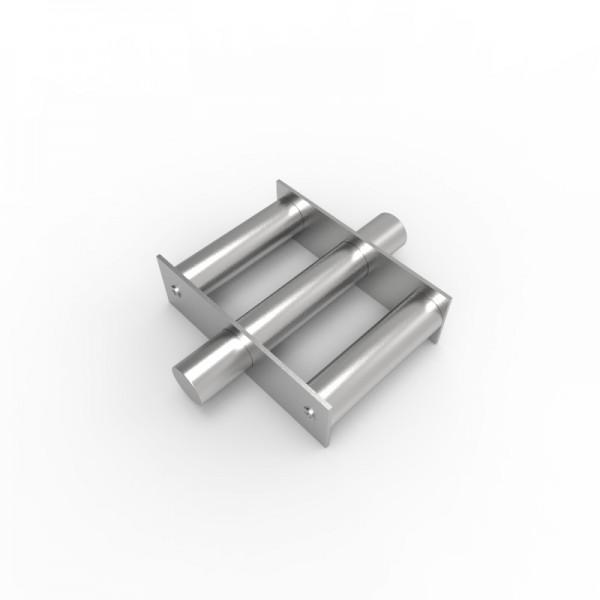 Магнитная решетка, круглая D200х30 (3 стержня D30 мм)