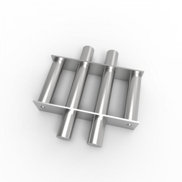 Магнитная решетка, круглая D250х30 (4 стержня D30 мм)