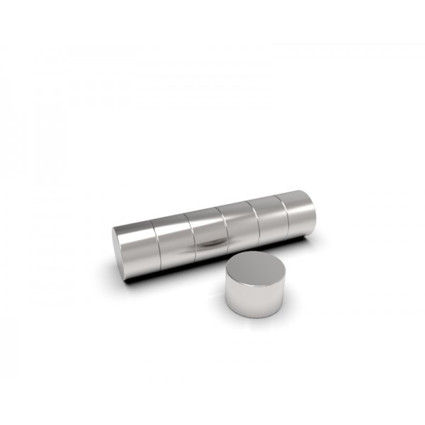 Магнит постоянный неодимовый 4х3 мм