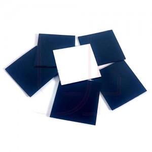 Магнитный винил 0,4 мм с клеевым слоем 4х4 см
