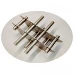 Магнитная решетка D360/210х100 под конус (7 стержней D25 мм)