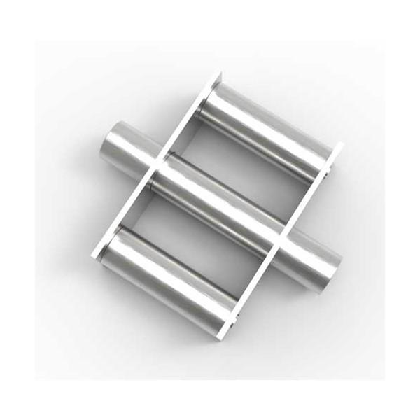 Магнитная решетка, круглая D150х40 (3 стержня D22 мм)